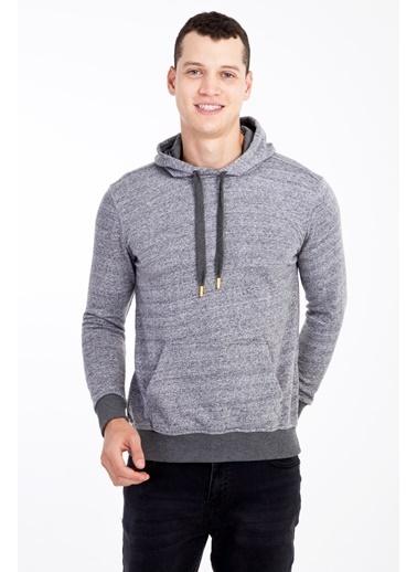 Kiğılı Sweatshirt Füme